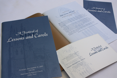 Lessons and Carols artwork 2007