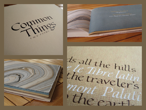 Common Things photomontage